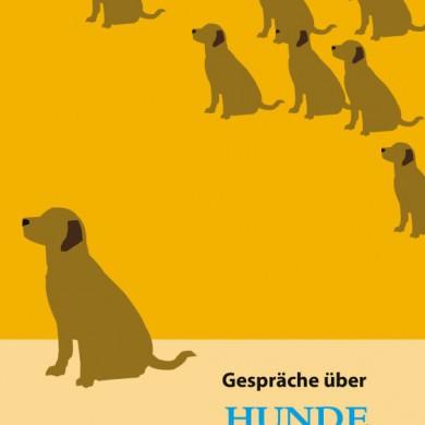 Buch Gespräch über Hunde