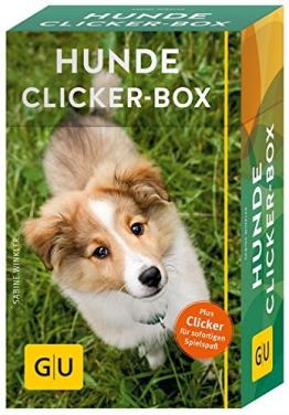Hunde-Clicker-Box: Plus Clicker für sofortigen Spielspaß (GU Tier-Box) - 1