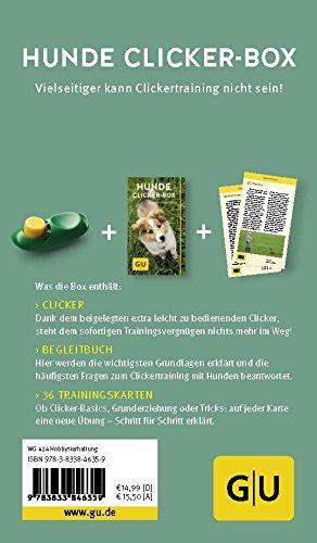 Hunde-Clicker-Box: Plus Clicker für sofortigen Spielspaß (GU Tier-Box) - 8